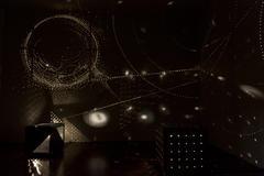 Sterne in der Kiste: Lichtkunst