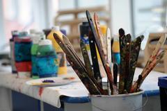 Farbe Satt: Malen im Großformat