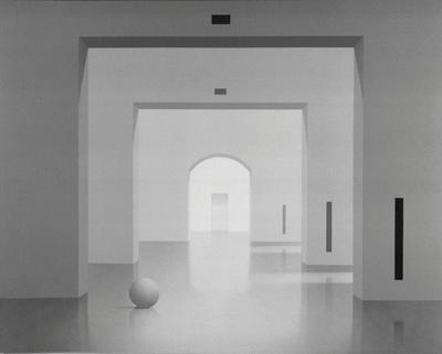 Ben Willikens (*1939) Raum 70, 1990 Acryl auf Leinwand