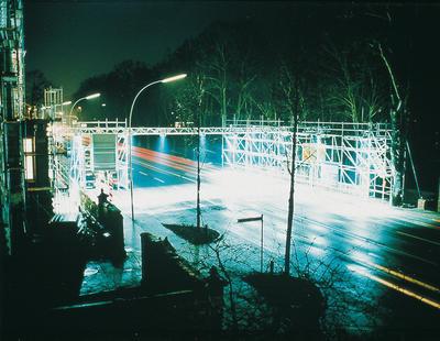 Urban Context, 2000, Projektion Bunker Lüneburg