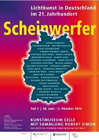 Plakat Scheinwerfer Teil 2