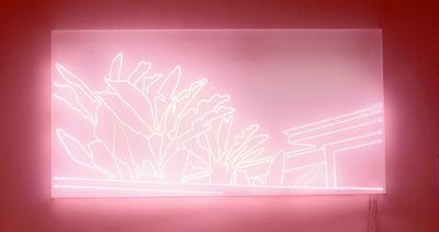 Sven Drühl_EH (Neon)_2007