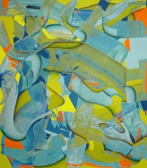 Ab van Hanegem, ohne Titel, 2009, 230 x 200,