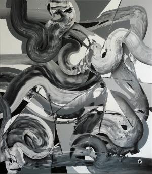 Ab van Hanegem, ohne Titel, 2010, 230 x 200,