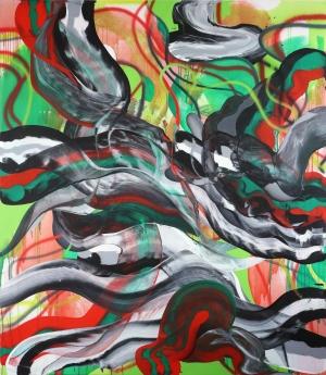 Ab van Hanegem, Snakeoil, 2012, 230 x 200,