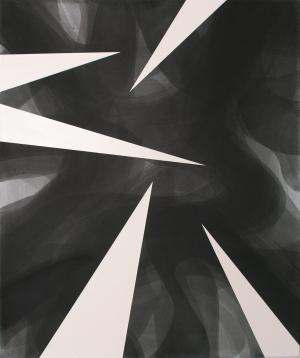 Friedhelm Falke, Diskurs/Spitzen, 2012,