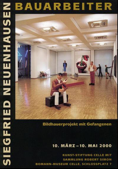 Plakat Siegfried Neuenhausen: Bauarbeiter