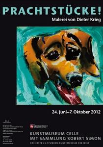 Plakat PRACHTSTÜCKE! Malerei von Dieter Krieg