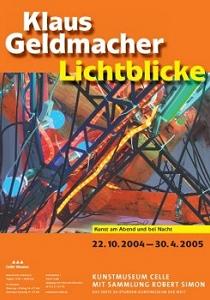 Plakat Klaus Geldmacher Lichtblicke