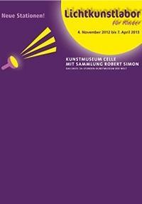 Plakat Lichtkunstlabor für Kinder 2012