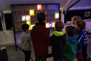 Lichtkunstlabor für Kinder 2012 Fotos: volkmar fotografie