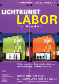 Plakat Lichtkunstlabor 2010