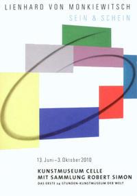 Plakat Lienhard von Monkiewitsch. Sein & Schein