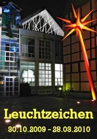 Plakat Leuchtzeichen