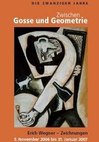 Plakat Zwischen Gosse und Geometrie