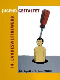 Plakat Jugend gestaltet 2008