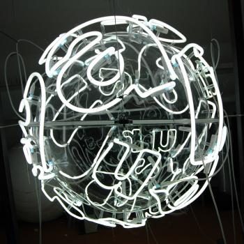 Brigitte Kowanz (*1957) aura, 2005/06, Neon, Acrylglas, dm ca. 100cm
