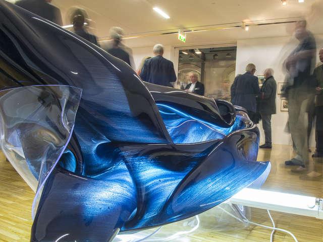 Winzige Funken entfalten große Energie im Kunstmuseum Celle
