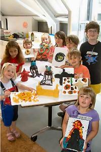»Knetothek« im Kunstmuseum lässt Kinder kreativ werden