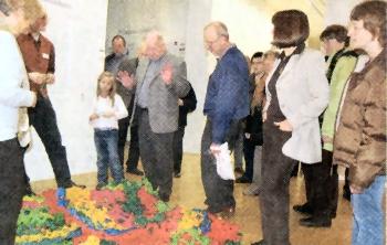 Leuchtendes Beispiel mitten in Celle / Riesenandrang im Kunstmuseum