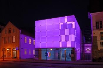 Ein Licht im Land der Ideen: Das 24-Stunden-Kunstmuseum