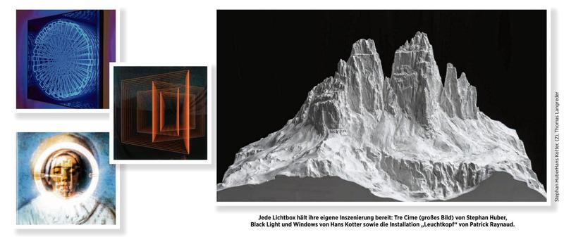 Medium »Light Box« steht im Mittelpunkt der Ausstellung im Kunstmuseum Celle