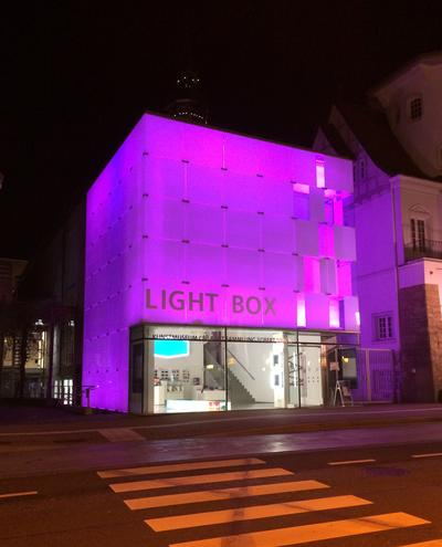 Kunstmuseum bei Nacht_Mona Hesse