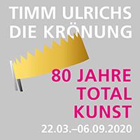 Timm Ulrichs Die Krönung 80 Jahre Totalkunst