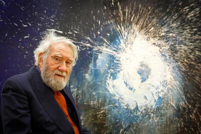 Otto Piene  (Fotograf: Torsten Volkmer