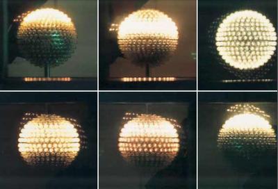 Otto Piene (*1928) Corona Borealis, 1965 Programmierte Lichtplastik