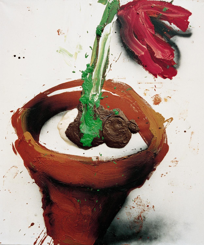 Dieter Krieg (1937 - 2005) ohne Titel, 1993 Öl / Acryl auf Leinwand