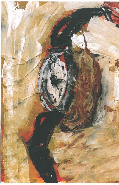 Dieter Krieg (1937 - 2005)Acryl/Papier/Leinwand ohne Titel, 1989
