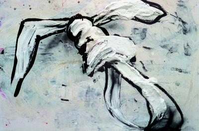 Dieter Krieg (1937 - 2005) ohne Titel, 1993 Acryl auf Leinwand