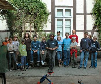Skulpturenworkshop mit Hartmut Stielow
