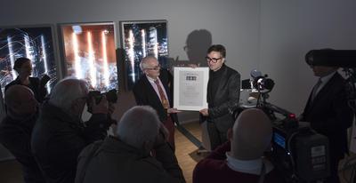 Die Preisverleihung am 17.01.2016 im Kunstmuseum Celle