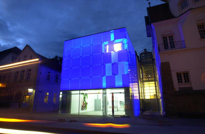 Kunstmuseum Celle bei Nacht