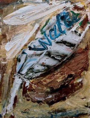 Dieter Krieg (1937 - 2005) ohne Titel, 1989 Öl, Acryl auf Leinwand
