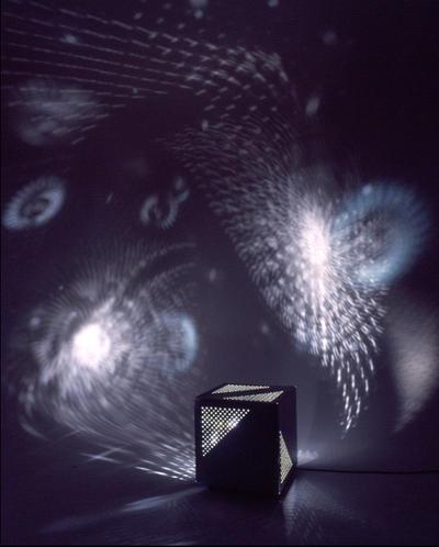 Otto Piene Lichtraum 2001, 2001 Rauminstallation 492 x 530 x 344 cm