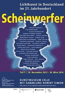 Plakat Scheinwerfer