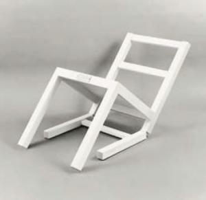 Der erste sitzende Stuhl