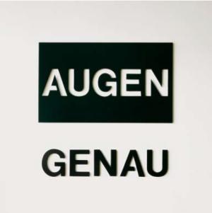 Timm Ulrichs AUGEN - GENAU
