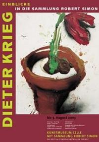 Plakat Dieter Krieg Einblicke in die Sammlung