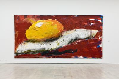 Dieter Krieg o.T. (Ei), 1996, 235 x 480 cm,
