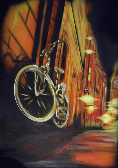 »van Gogh?s Fahrrad« von Kevin Faeseler,